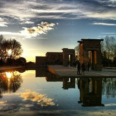 Templo de Debod in Madrid, Madrid