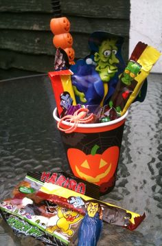 Treat cup