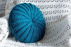 Sand Dollar Throw Pillow Cover Crochet Pattern