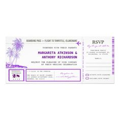 boarding pass flight wedding invites with RSVP ReviewHere a great deal...