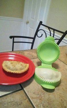 Pie Press/Empanada Maker!  http://my2.tupperware.com/tup-html/K/kristengutschow-welcome.html