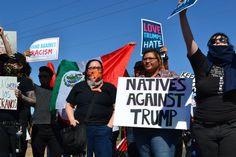 """Résultat de recherche d'images pour """"natives' march to Trump's house draw million"""""""