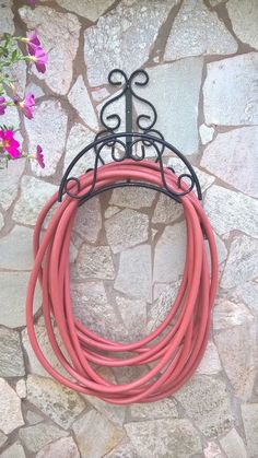 Soporte de manguera hierro manguera de pared soporte manguera tambor de pared soporte cable