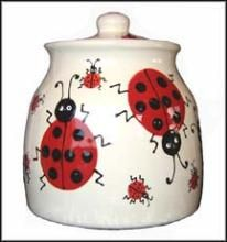 Google Image Result for http://www.hotfrog.ca/Uploads/PressReleases2/Handpainted-LadyBug-Pottery-Cookie-Jar-11045_image.jpg