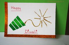 Are the kids feeling left out as the adults are busy with prepping for Diwali? Engage them with these 10 fun Diwali Activities for Kids and let them enjoy! Handmade Diwali Greeting Cards, Diwali Cards, Diwali Greetings, Diwali Gifts, Diwali Diya, Diwali 2014, Happy Diwali, Paper Crafts For Kids, Easy Crafts For Kids