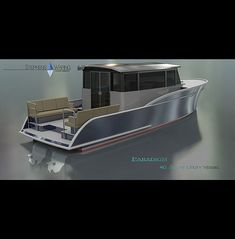 Yacht Design, Boat Design, Boat Props, Family Boats, Side Deck, Boat Projects, Boat Interior, Aluminum Boat, Castle House