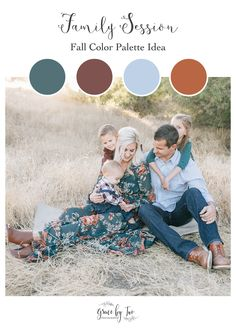 Grace By Two - California Family Photographer - Family Session - Outfit Idea - Family Session Outfits Fall Family Picture Outfits, Family Pictures What To Wear, Family Portrait Outfits, Family Picture Colors, Summer Family Pictures, Fall Family Portraits, Family Picture Poses, Fall Family Photos, Family Photo Sessions
