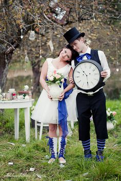 alice in weddingland by loreta03 Alice In Wonderland Photo Shoot Wedding Blog