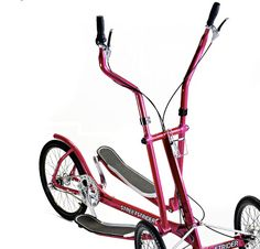 Street Strider - Elliptical outside of the gym! You can also make it stationary for indoor use.