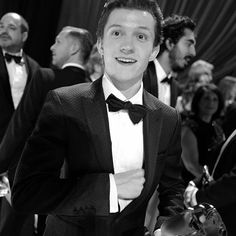 He looks so bloody sexy in a tux
