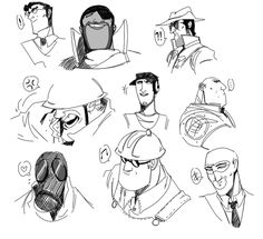 TF2 Classes by Hennei on DeviantArt