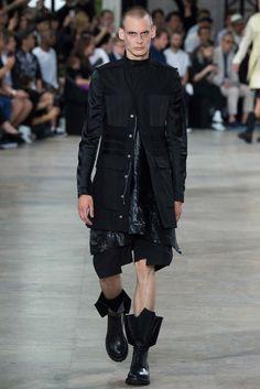 Rick Owens Spring 2016 Menswear Fashion Show