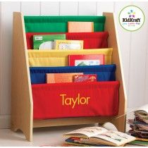 Little Readers Personalized Sling Bookcase