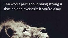 "Mindfulness Wellness on Twitter: ""The worst part about being strong that ... #caring #innerstrength #mindfulness http://t.co/7wnxnJNbRI"""
