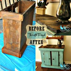 Color It Simple: Before & After Thrift Find