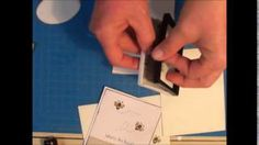 """Honey Bee """"What's the Buzz?"""" """"You're the Bee's Knees"""" Thank you card, quick and easy tutorial"""