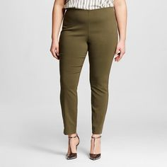 Women's Plus Size Skinny Crop Pant - Who What Wear™ : Target