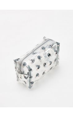 2000    Bulldogos kozmetikai táska, Pénztárcák, fehÉr, RESERVED