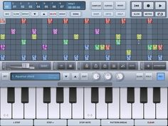 iSequence HD:  A different take on the complete music production suite, iSequence is for the most part all step sequencer, which is good news if you aren't the best keyboard player.