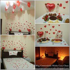 20 Decorações e Ideias Românticas para o Dia dos Namorados!
