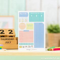 Bloc de tareas para tu día a día                                                                                                                                                                                 Más