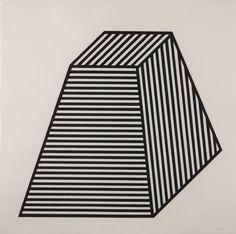 Sol LeWitt, [no title], 1982, woodcut printed in watercolour on Kizuki Hanga paper