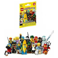 Lego Minifigures Characters Series 16 Collection Mystery Blind Bag #71013 x60 Sealed Packs Building Toy (Retail Display Box is NOT included in this purchase)