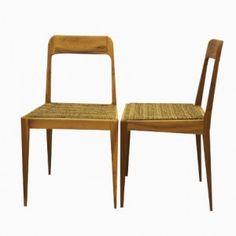 Austrian A 7 Chairs by Carl Auböck for Auböck, Set of 2