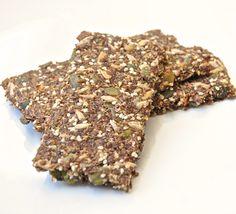 Superfood crackers – De gezonde foodie
