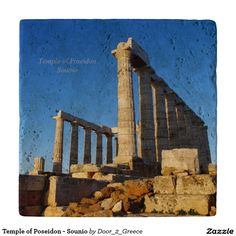 Temple of Poseidon - Sounio Trivets