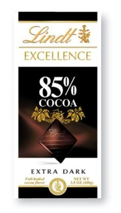 Lindt Master Chocolatier Excellence Cocoa Dark, 85 %, 3.5-Ounce (Pack of 6) by Lindt -- Awesome products selected by Anna Churchill