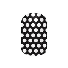 Jamberry Nail Wraps ($15) ❤ liked on Polyvore featuring beauty products, nail care, nail treatments, black & white polka, jamberry, black and white polka, nails and jamberry nails
