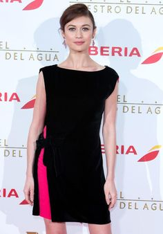 We tailored this Lanvin dress Olga Kurylenko wore to 'The Water Diviner' première in Madrid. See more of our red carpet tailoring work http://www.londonfittingrooms.com/le-boudoir/couture-alterations/red-carpet-fashion-2014-us