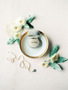"styled wedding ring shot | image via"" style me pretty"