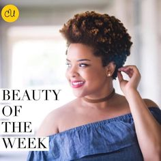 """56 Likes, 2 Comments - Curls Understood. (@curlsunderstood) on Instagram: """"@ilovealimara is our gorgeous Beauty of the Week. This vlogger-to-watch shares her tapered fro…"""""""