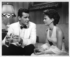 "Natalie Wood & James Garner in ""Cash McCall"" (1960)"