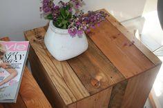 Table Pair Rustic Natural. $79.99, via Etsy.