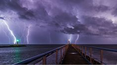 Lighthouses Battling the Storms and Winning