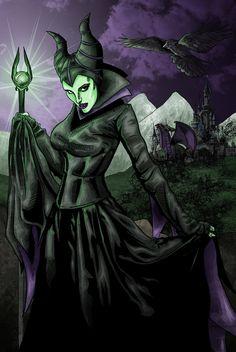 Maleficent by MarcOuellette on deviantART