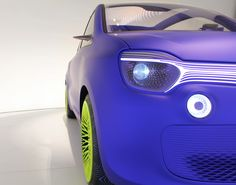 Renault Twin'Z by Ross Lovegrove - Fancy meets function in a glass-roofed, luminescent commuter car