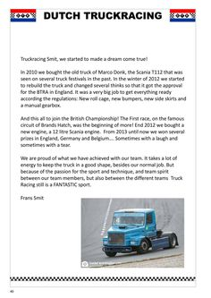 World Truck Racing Promotion - online magazine ( Social Networks, Social Media Marketing, Digital Marketing, Truck Festival, Sale Promotion, Old Trucks, Dutch, The Past, Racing