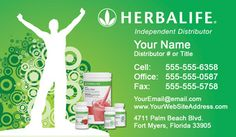 8 best herbalife business cards images on pinterest business card hebalife business cards unique business cards double sided business cards wajeb Image collections