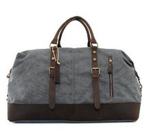 Style Brewing Company - Canvas Weekend Travel Duffel Bag