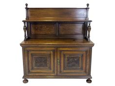 Circa 1900, Engish Oak Court Cupboard. Stunning piece from the Heritage collection at www.resourcevintage.co.uk