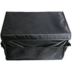 Amazon.com: UTOUR Foldable Trunk Organizer with Cover,Washable Waterproof Cargo Storage Box with Lid Perfect for Shopping Outdoors Camping Hiking Picnic (Black): Automotive