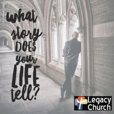 What story does your life tell?  Philippians 1:27