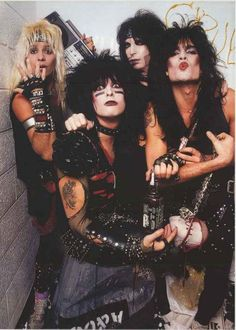 "Vince Neil, Nikki Sixx, Mick Mars, and Tommy Lee show off their Wild Side in this awesome Motley Crue poster! Ships fast. 24x33 inches. ""Feelgood"" and check out the rest of our fantastic selection of"