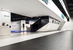 Siemens Messestand