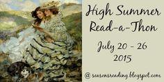 Faith Hope and Cherrytea: HIGH SUMMER READATHON BEGINS: JULY 20 - 26. 2015
