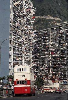 The Old Hong Kong...... Maybe 1970's .... Bill Gibson-Patmore. (curation & caption: @BillGP). Bill✔️